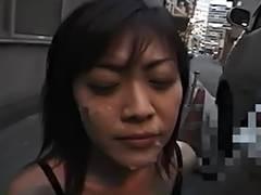 Yukari Sakurada Cum Walk 1