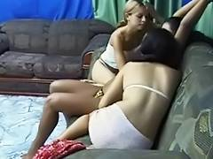 Pure Fetish Armpit licking lesbos bonus episode