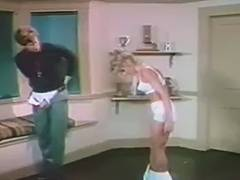 Ginger Lynn bangs the trainer