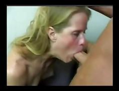 Skinny Mature Dawndi Fucked In Office