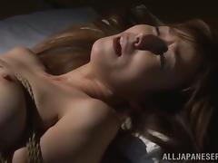 Reiko Sawamura gets tied up and brutally fucked from behind
