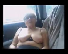 Mature Squirting In Car