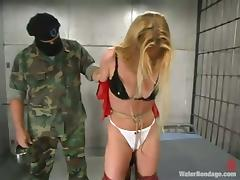 Trina gets tortured and humiliated in a prison and likes it