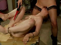 Alani Pi gets her asshole stunningly toyed by Lorelei Lee