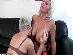 Horny blonde mature housewife part4