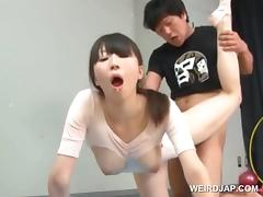 Gymnast, Asian, Couple, Cute, Hardcore, Japanese