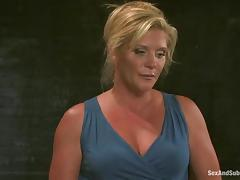 Mature lady Ginger Lynn is getting abused like in good old times