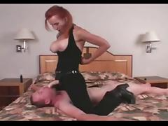 Busty Babe Fucking Strong Guy BVR