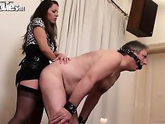 Mistress, Amateur, BDSM, Femdom, Fetish, Handjob