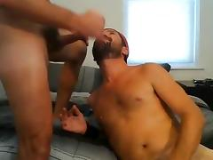 Hot hunks fuck and suck eachother off and eat cum