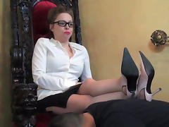 Mistress, Boots, Brunette, Feet, Femdom, Fetish