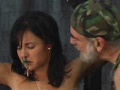 Pain, BDSM, Boobs, Brunette, Punishment, Small Tits