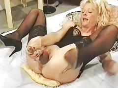 Old Lady, Amateur, French, Mature, Old, Pussy