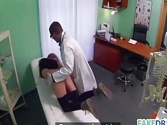 Clinic, Amateur, Brunette, Couple, Cunt, Hospital
