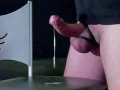 2 mal abgespritzt, Handsfree Cumshot, Cum Eating, Wank