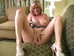 Solo #22 (Blonde MILF with Big Boobs talking Dirty)