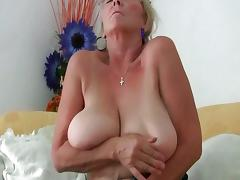 Grandma, Big Tits, Boobs, Cunt, Granny, Masturbation