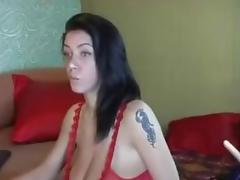 Breasty Merilyn Sekova Fucking Machine On Livecam