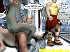 Gay Ass Competition or Roman Anal Bizarre Games 3D Cartoon Comics Story Anime Hentai
