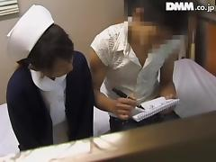 Nice shagging with a nurse in hot Japanese sex voyeur video