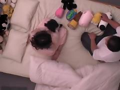 Petite Jap screwed and creamed in spy cam Asian sex video
