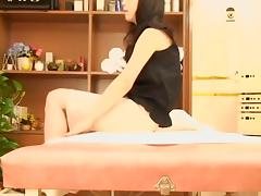 Perfect busty Asian screwed during hot oriental massage