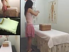Teen Jap hottie rubbed in voyeur erotic massage movie