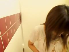 Hot voyeur video with kinky japanese couple having it off