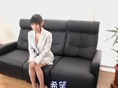 Skinny Jap lassie creamed in hardcore hidden cam video