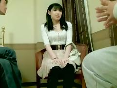 Perfect Japanese slut dicked well in Japanese hardcore video