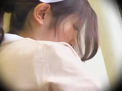 Perfect Jap nurse crammed hard in Japanese sex video porn video