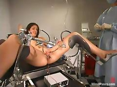 Crazy Appointment with the Gynecologist with Pussy Torture