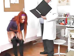 Rectal Exam, European, Fetish, Gyno, Reality, Redhead