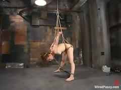 Bobbie Kat gets tormented by Harmony in BDSM scene