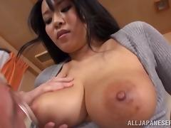 Japanese Big Tits, Asian, Big Tits, Blowjob, Boobs, Couple