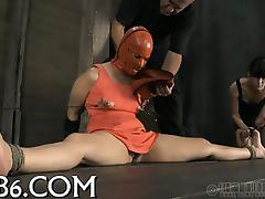 Cruel torture for beauty's twat porn video