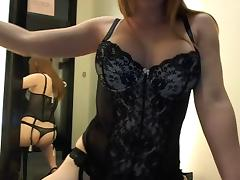Camgirl in dressingroom