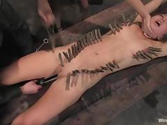 Nazi officer strapon fucks that lusty military sex slave porn video