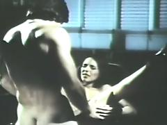 stunnigly hot retro blowjob porn video