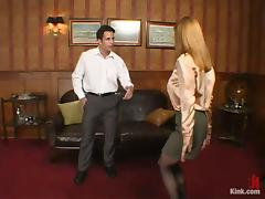 Boss Banging His Sexy Secretary in Wild Domination in the Office porn video