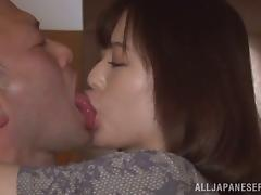 Weird kisses and some wild penetration with Yua