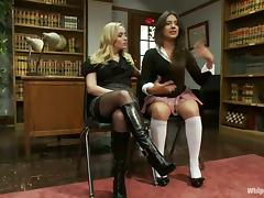 BDSM hours with a booty librarian at her work place