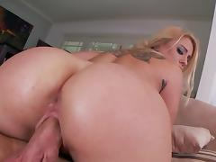 Blonde Cameron Canada being fucked in her juicy ass
