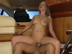 Colette gets all her holes fucked hard by an insatiable stud