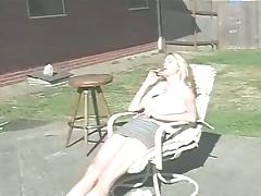 Outdoor Hardcore Spanking By One Horny Dude And His Wife
