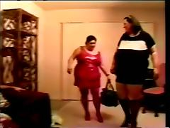 Two Horny BBW Gals Sucking And Fucking Doggystyle With Horny Man