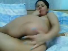Sweet Teen Small Tits Fingering Her Ass