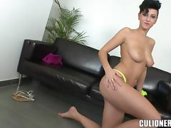 Emylia Argan shows off her cunt and gets it fucked hard