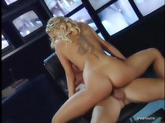 Sensual sex story in the control panel room with Sandra Iron