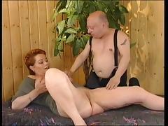 Redhead-Shorthair MILF fucked by General von Midget